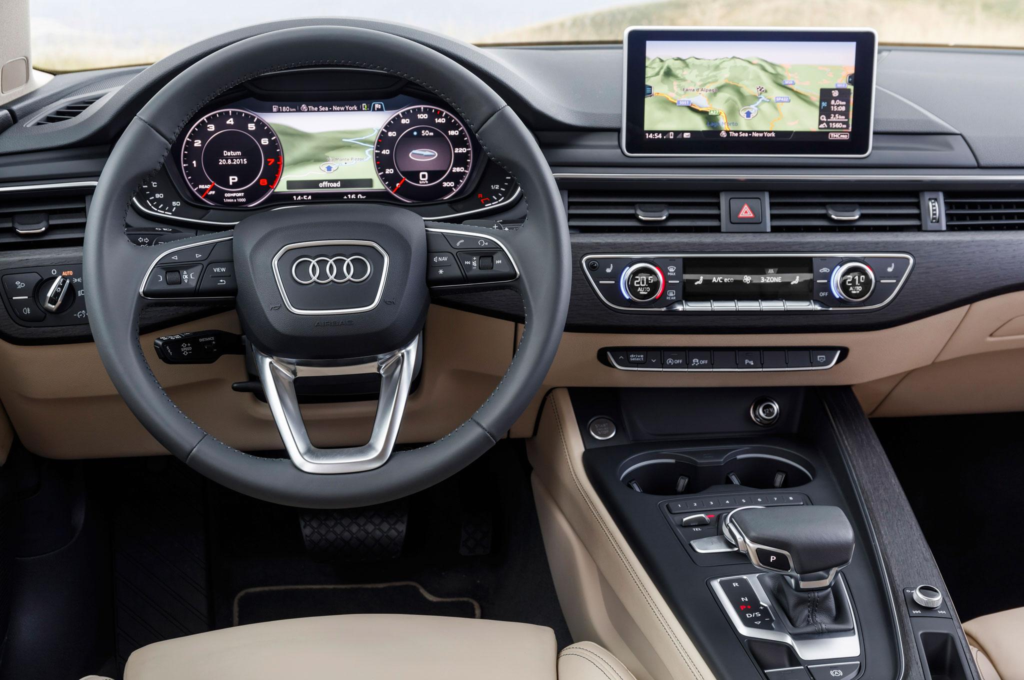 2017 Audi A4 Sedan 2